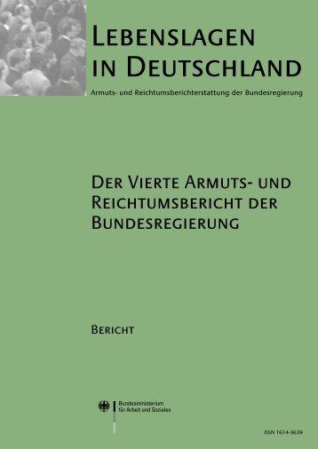 Vierte Armuts- und Reichtumsbericht - Bundesministerium für Arbeit ...