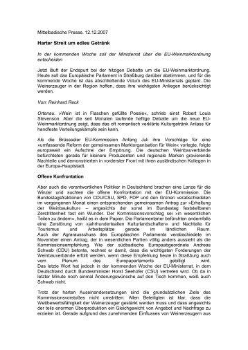 Mittelbadische Presse - Dr. Andreas Schwab