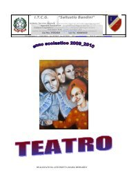 Teatro - Istituto Tecnico