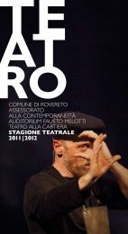 2011 2012 - Comune di Rovereto