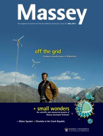 + small wonders off the grid - Massey University
