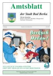 Ausgabe 2/2010 - Kurstadt Bad Berka