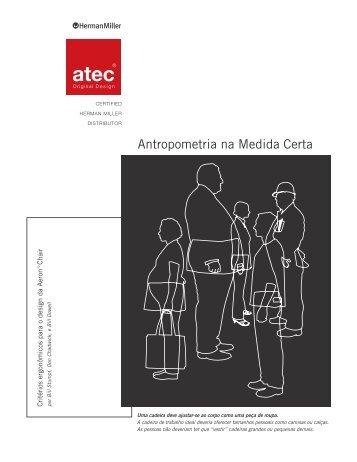 Antropometria na Medida Certa (429KB PDF) - Atec Original Design