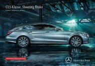 Download CLS Shooting Brake Preisliste