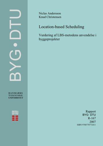 2 Om Location-based Scheduling - DTU Byg - Danmarks Tekniske ...