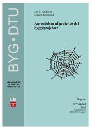 BYG R-043 - DTU Byg - Danmarks Tekniske Universitet