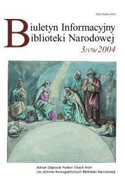 3 [.pdf] - Biblioteka Narodowa