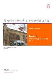 Energirenovering af murermesterhus - DTU Byg - Danmarks ...
