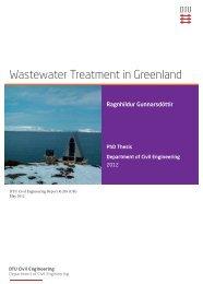 Wastewater Treatment in Greenland - DTU Byg