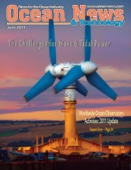 The Challenges for Wave & Tidal Power