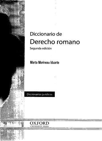 DICCIONARIO DE DERECHO ROMANO.pdf - Index of /prueba ...