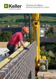 Tecnica di utilizzo - Keller AG Ziegeleien