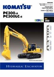 Download PC300-8 Specification (PDF) - Komatsu