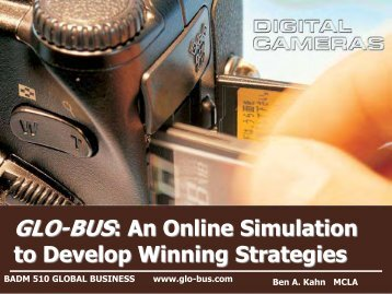 GLO-BUS: An Online Simulation for Developing Winning ... - COPLAC