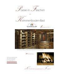 Rotweine - Kemmeriboden-Bad