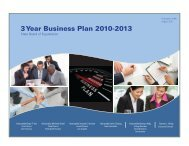 3 year business plan 2010-2013 - California State Board of ...