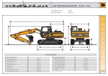 JCB TRACKED EXCAVATOR | JS130 L T.A.B. - Exuma Plant Hire