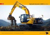 Hydraulic Excavator JS220 SC/LC/NLC - JCB