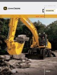 180C W Excavator - John Deere