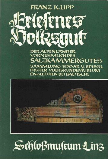 franz k.upp salzkammergutes - Oberösterreichische Landesmuseen