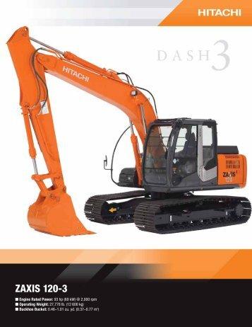 ZAXIS 120-3 - Hitachi