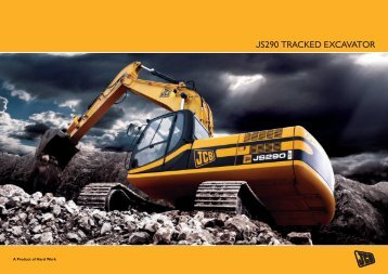 JS290 TRACKED EXCAVATOR - Comin Asia