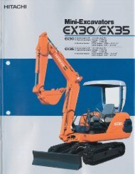 EXBO/EX35 - Hitachi Construction Machinery