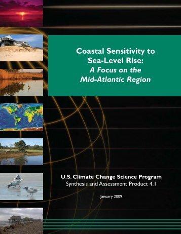 Coastal Sensitivity to Sea-Level Rise - US Climate Change Science ...