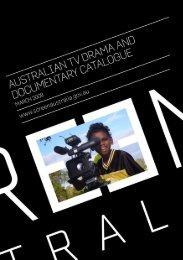Australian TV Drama and Documentary Catalogue - Screen Australia