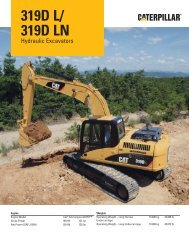 319D L/319D LN Hydraulic Excavator.