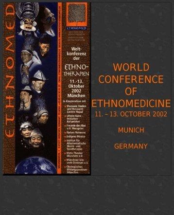 ETHNOMED CONFERENCE - Sacred Earth Newsletter