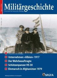 Zeitschrift Militärgeschichte [Heft 03/2004]