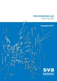 Informationsbroschüre 2011 (PDF, 2.5 MB) - SVA Aargau