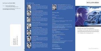 Download Flyer (PDF, 470 KB) - Müller-BBM GmbH