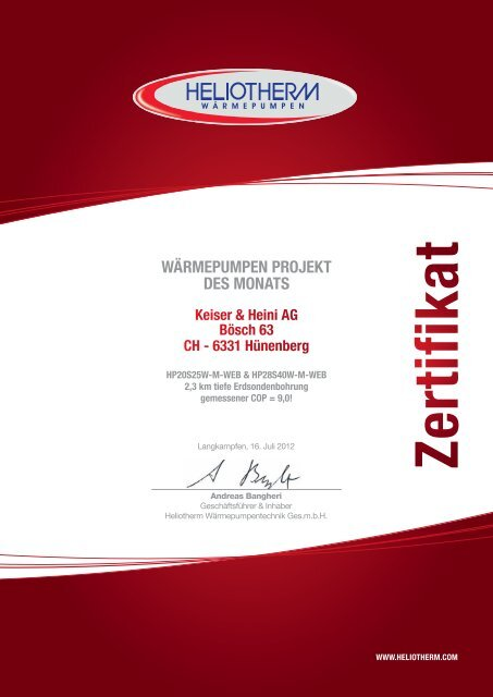 Wärmepumpenprojekt des Monats-Juli2012.indd - Link