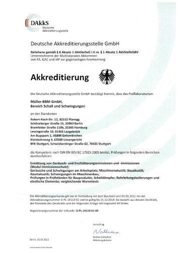 Schall und Schwingungen - Müller-BBM GmbH