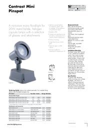 Contrast Mini Pinspot - THORN Lighting