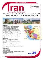 Iran 8 Tage