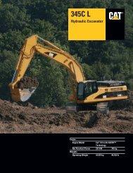 Specalog for 345C L Hydraulic Excavator, AEHQ5687