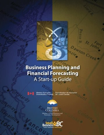 BUSINESS PLANning and Financial Forecasting - A Start-Up Guide ...