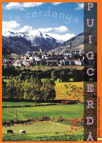 General - Calendario de fiestas y actividades - Puigcerdà