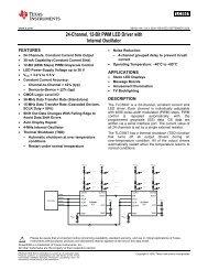 24-Channel, 12-Bit PWM LED Driver with Internal Oscillator (Rev. A