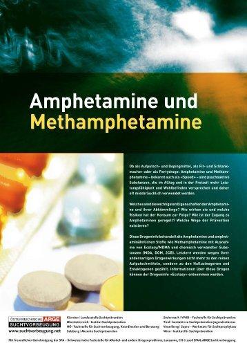 Amphetamine und Methamphetamine - Institut Suchtprävention