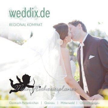 Mein Hochzeitsplaner - weddix.de Regional kompakt Garmisch ...