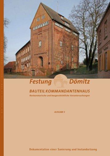 bauteil kommandantenhaus - Zugbrücke Festung Dömitz