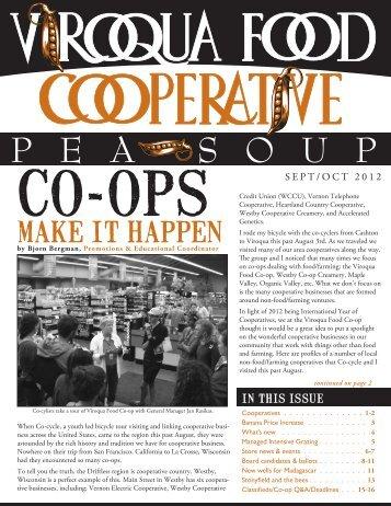 Sept/Oct 2012 - Viroqua Food Co-op