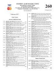 List 260.vp - Stephen Album Rare Coins