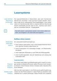 Lasersysteme - Spitta