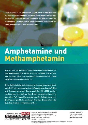 Amphetamine und Methamphetamin