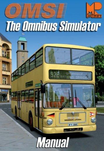 Manual - OMSI - Omnibus simulator